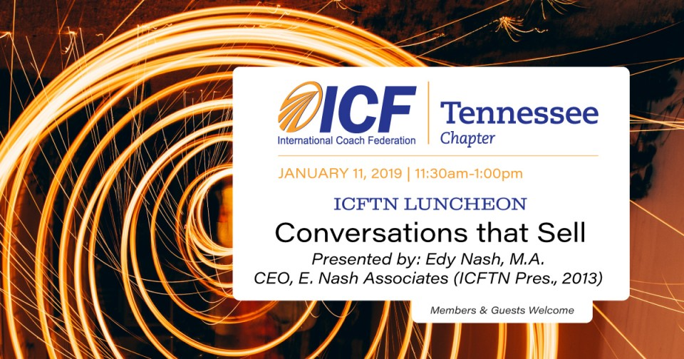 January 11, 2019 Luncheon: Conversations that Sell